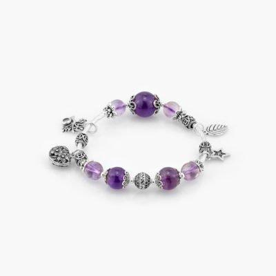 Amethyst Lilo Healing Crystal Bracelets