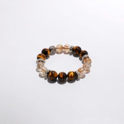 Braun Healing Crystal Bracelets