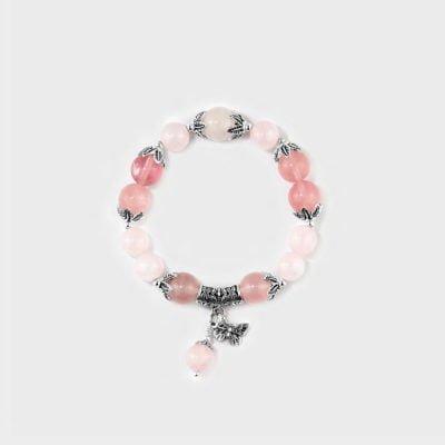 Pansy Healing Crystal Bracelets