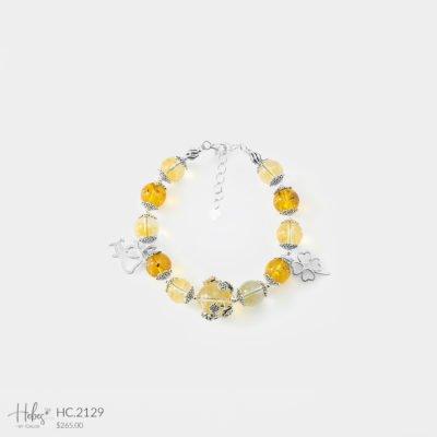 Hebes Design Bracelet HC2129 Healing Crystal Bracelets