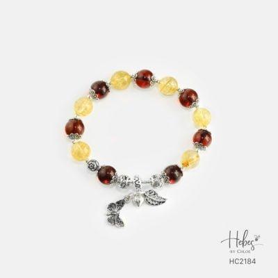Hebes Design Bracelet HC2184 Healing Crystal Bracelets