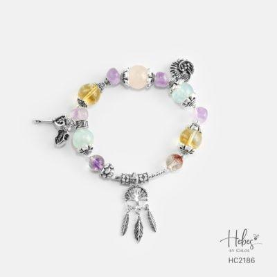 Hebes Design Bracelet HC2186 Healing Crystal Bracelets