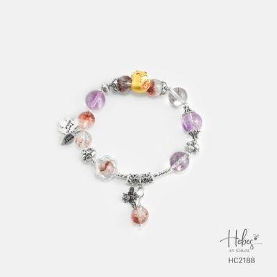 Hebes Design Bracelet HC2188 Healing Crystal Bracelets