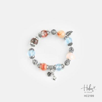 Hebes Design Bracelet HC2199 Healing Crystal Bracelets