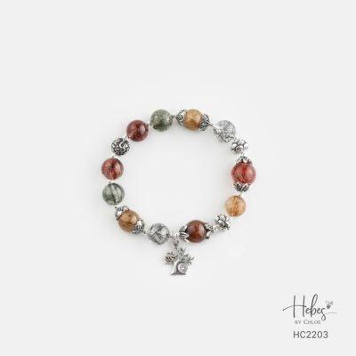 Hebes Design Bracelet HC2203 Healing Crystal Bracelets