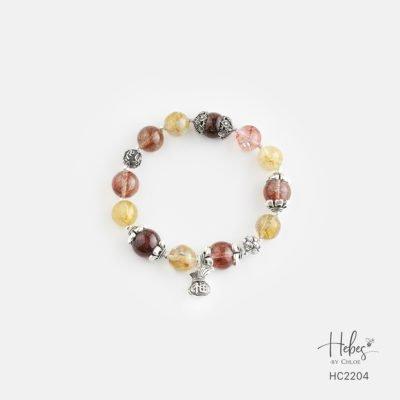Hebes Design Bracelet HC2204 Healing Crystal Bracelets