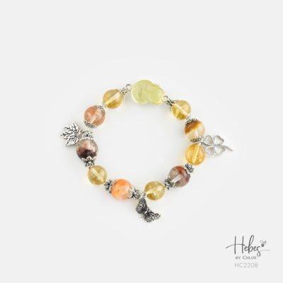 Hebes Design Bracelet HC2208 Healing Crystal Bracelets