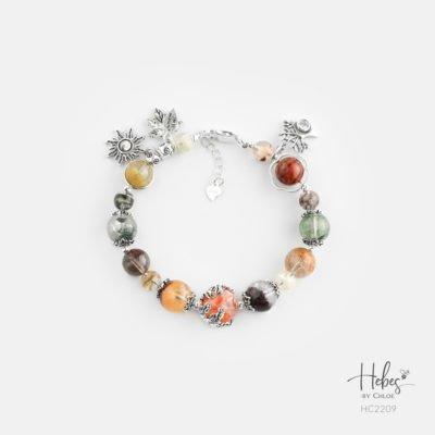 Hebes Design Bracelet HC2209 Healing Crystal Bracelets