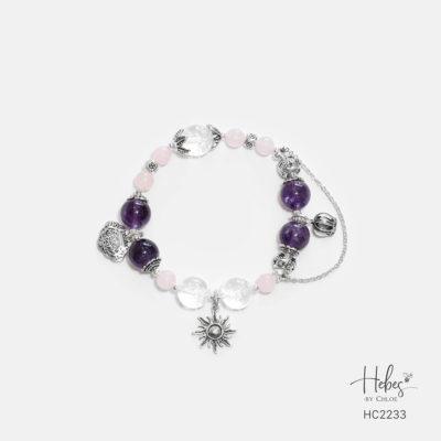 Hebes Design Bracelet HC2233 Healing Crystal Bracelets
