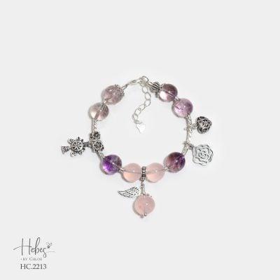 Hebes Design Bracelet HC2213 Healing Crystal Bracelets
