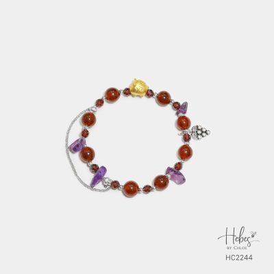 Hebes Design Bracelet HC2244 Healing Crystal Bracelets