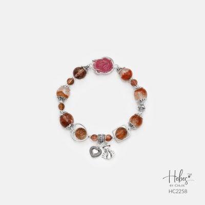 Hebes Design Bracelet HC2258 Healing Crystal Bracelets