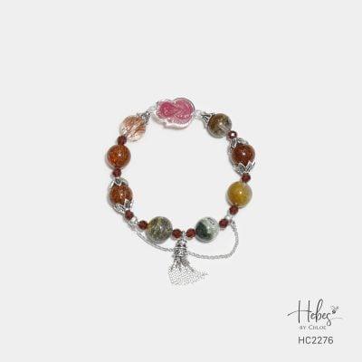 Hebes Design Bracelet HC2276 Healing Crystal Bracelets
