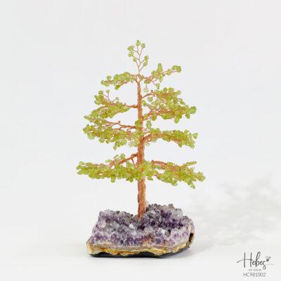 Hebes Design Lucky Tree HC981002 Healing Crystal Bracelets