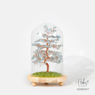 Hebes Design Lucky Tree with LED HC981017 Healing Crystal Bracelets